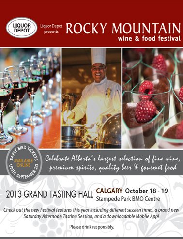 Rocky Mountain Wine And Food Festival Edmonton