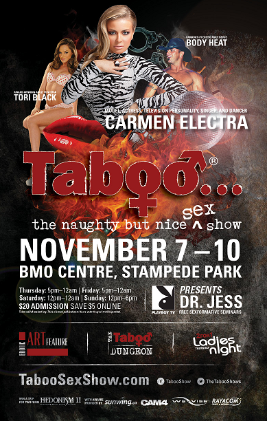 Taboo naughty but nice sex show calgary
