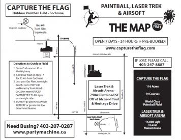 Capture The Flag Paintball And Airsoft Calgary